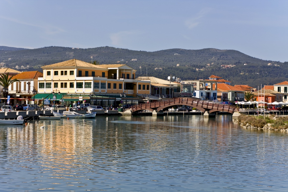 'Island and city of Lefkada at ionio, Greece' - Lefkada